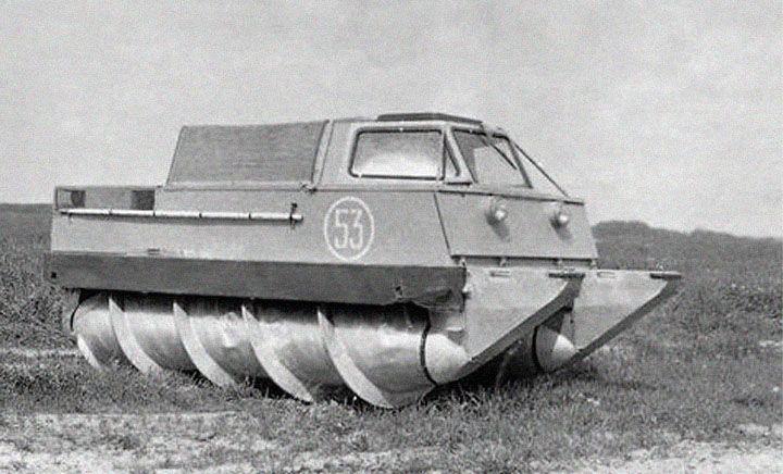 3 Desain Konyol Tank Tahap Awal