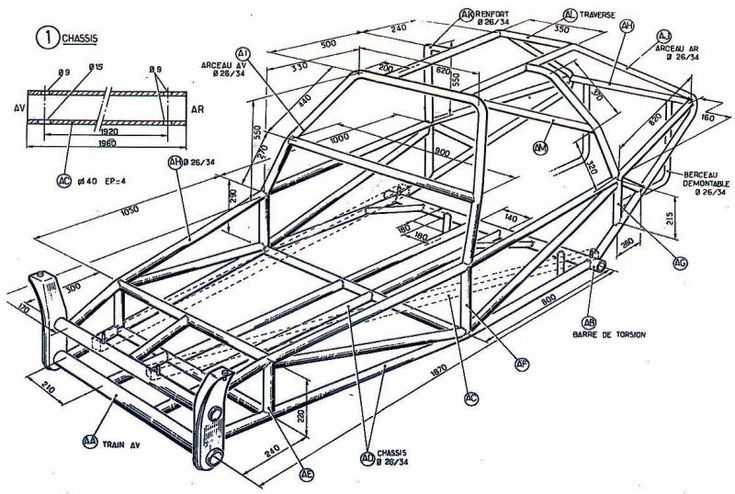 Pin by Arizona Performance Offroad on Dune Buggy Plans