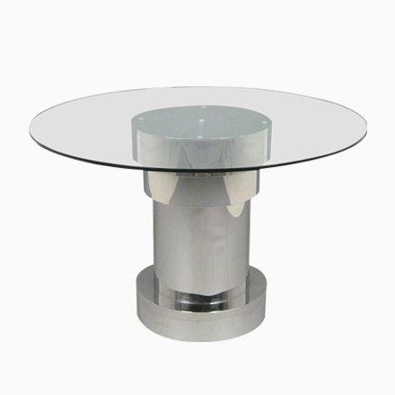 Die Besten 25+ Runder Esstisch Aus Glas Ideen Auf Pinterest 50er   Runde  Esstische Modern