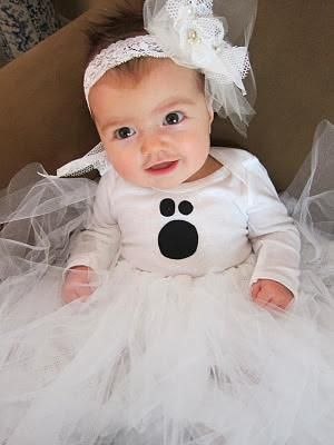 DIY Baby Girls Halloween Costumes : DIY: Baby Ghost Halloween Costume Tutorial Revealed