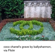 Coco Chanel's grave in Lausanne, Switzerland #CocoChanel Visit espritdegabrielle.com | L'héritage de Coco Chanel #espritdegabrielle