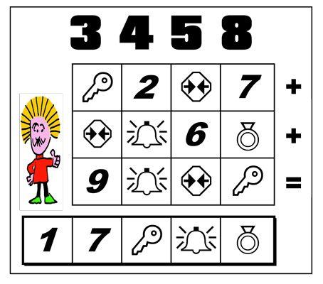 Scrivere nelle caselle vuote i nu- meri in basso in modo che eseguendo  le sottrazioni si ottengano i resti dati. #albus #giochimatematici #matematici #enigmionline #enigmistica #einstein