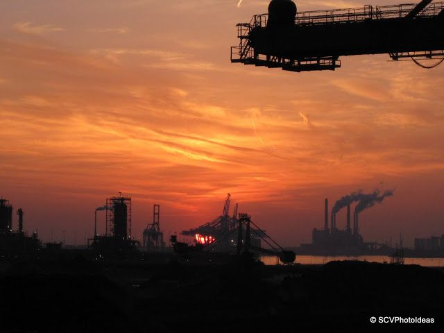 Industrial Sunset...