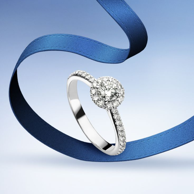 Make her shine with #Bucherer Entourage #EngagementRing #ThisIsForLove