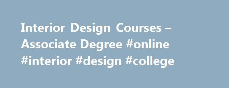Interior Design Courses Associate Degree Online College Japannef2