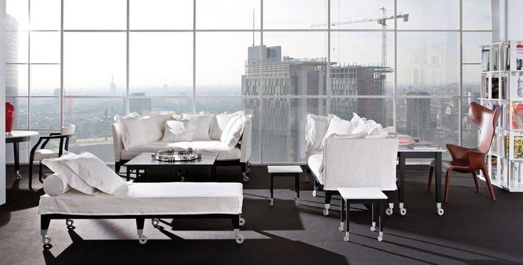 Sofa Neoz by Driade #designbest #philippestarck #design #interiordesign #interiors #homestyle #living #homedecor #homefurniture #home #furniture #style