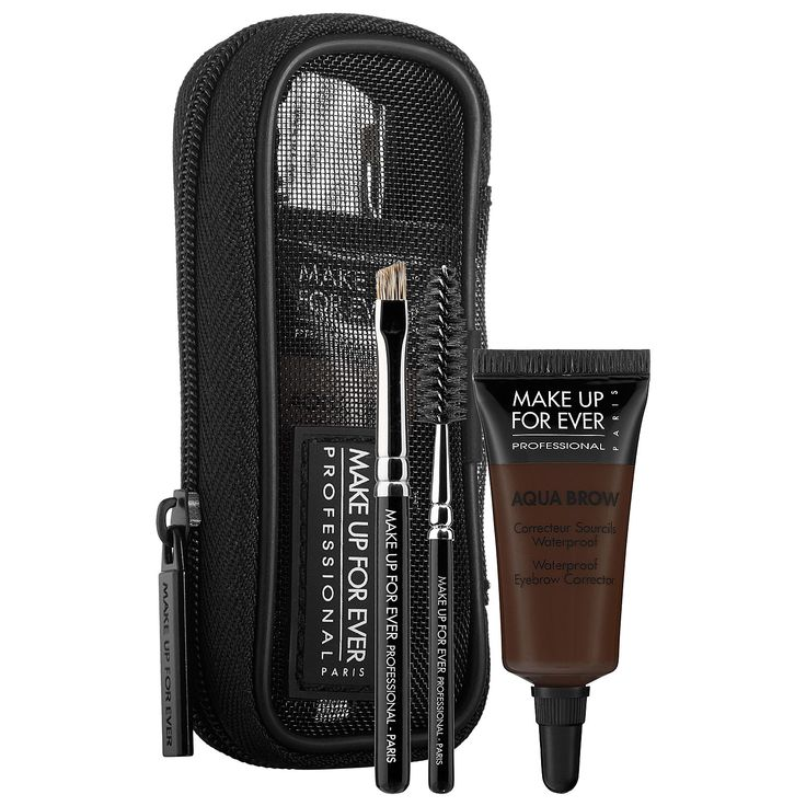 Makeup Forever Aqua Brow: Similar to Anastasia Brow Gel. NYX makes a similar product!