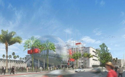Academy Museum of Motion Pictures © Renzo Piano Building Workshop, Studio Pali Fekete architects, AMPAS