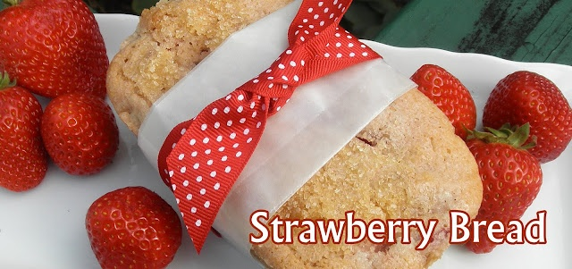 Fresh Strawberry Bread | Recipes to try | Pinterest