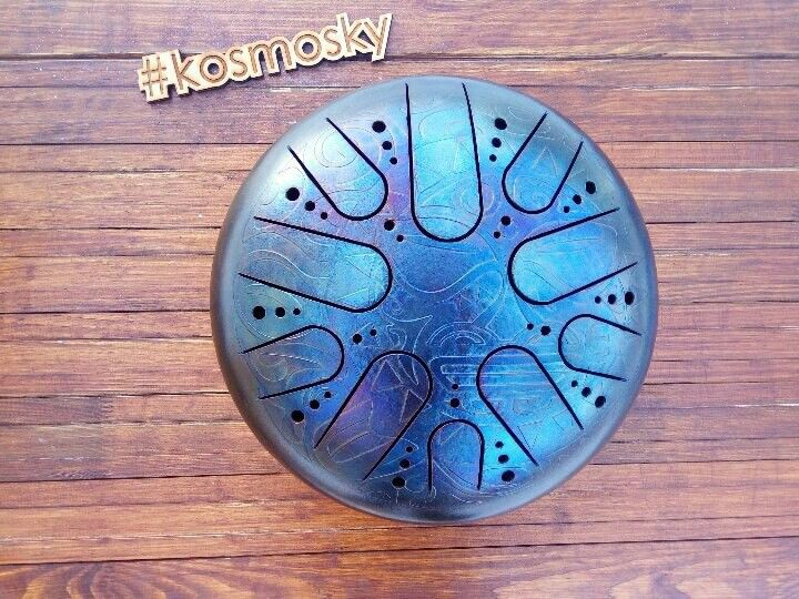 Polynesian Sun and Moon #kosmosky #tankdrum #hang #handpan