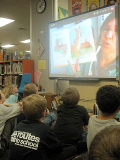 """Authors who will Skype classrooms for free!  Click on """"Kate Messner"""" link to get a GREAT list of free Skype authors!"""