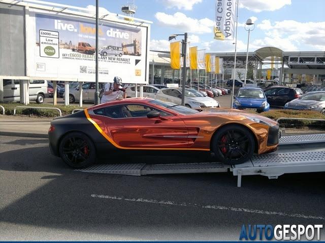 Aston Martin 1 77 Gumball 3000 Race