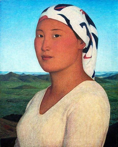 Portrait of Miss Wuian II (2007), Xue Mo