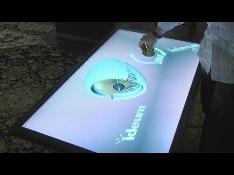Digital coffee table maker based in New Mexico - YouTube