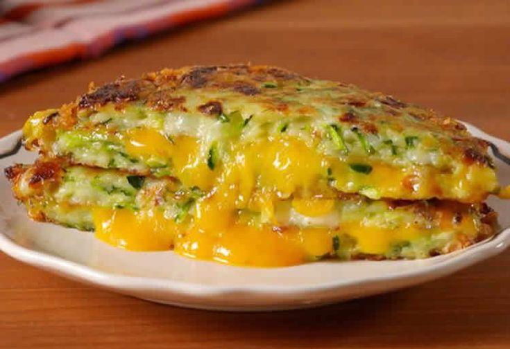 Recette galette courgette cheddar ww – pour accompagner vos plats.