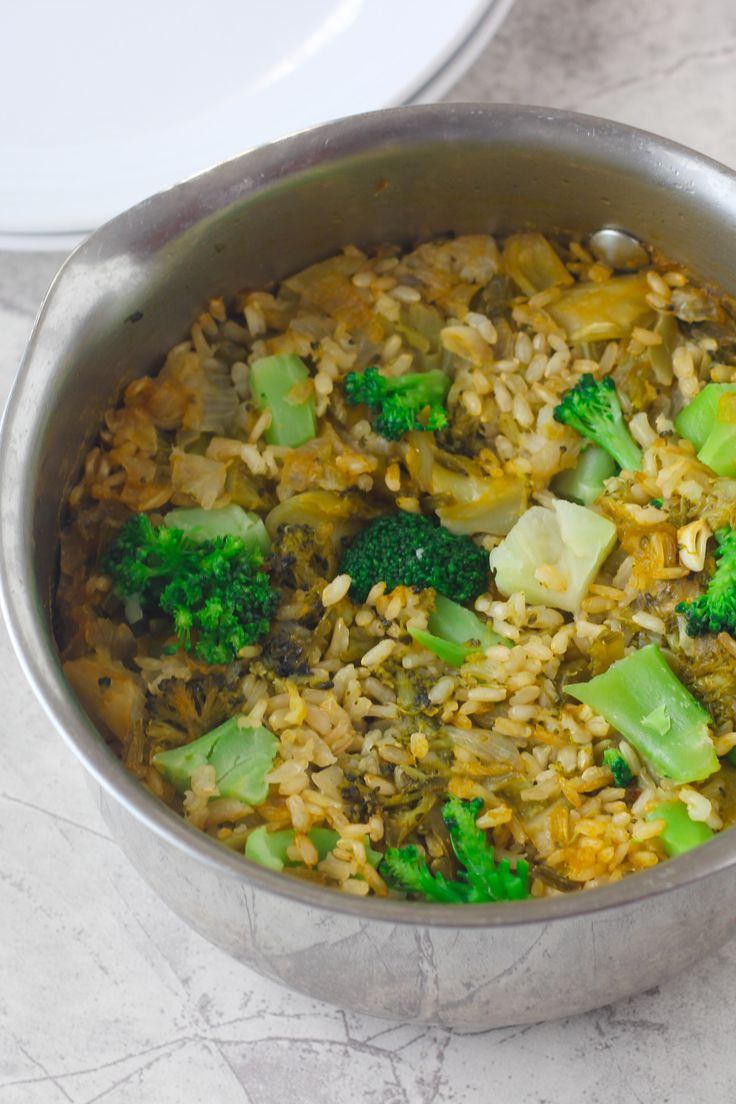 A simple and healthy side dish to keep you on track and add more veggies to your diet..