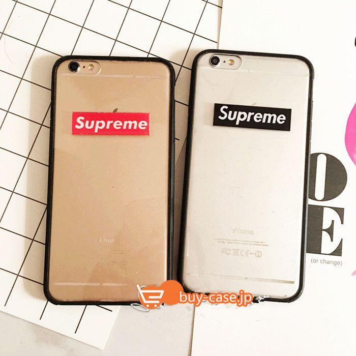 iphone7 PLUS ケース ブランドシュプリームストリートファッションブランドSupremeアイフォンシリコン製耐衝撃6s保護カバーカップル向け6plusペアケース