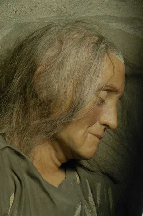 Trijntje - Forensic reconstruction of a Mesolithic woman from the Netherlands who lived some 7,000 years ago