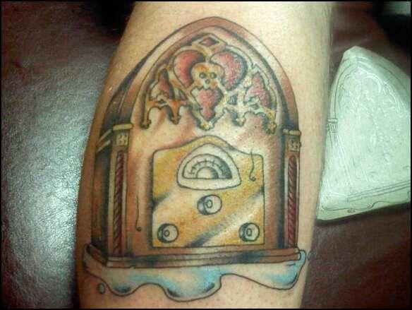 Best Alkaline Trio tattoo ever!!