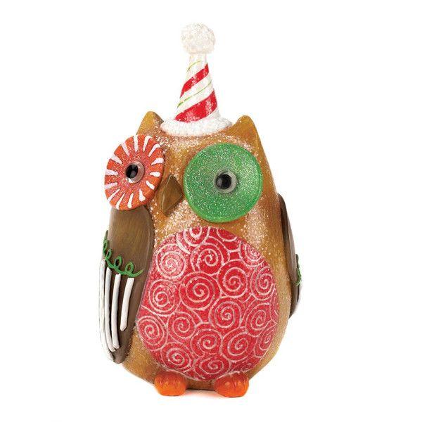 SWEET HOLIDAY OWL DÉCOR www.eaglecrazgifts.com Sweet Holiday Owl Decor Want a sweet treat for your holiday décor? $9.95