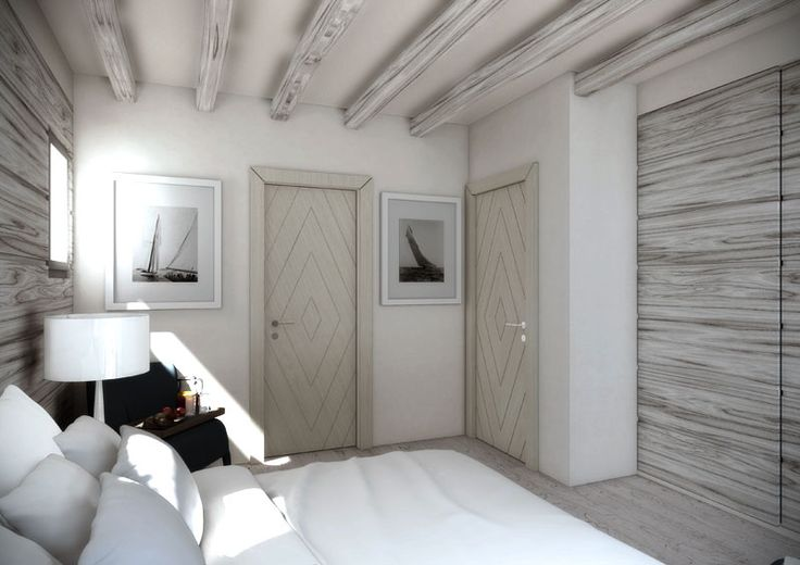 Eidomatica - rendering villa con piscina/villa with swimming pool interior rendering - camera da letto/master bedroom