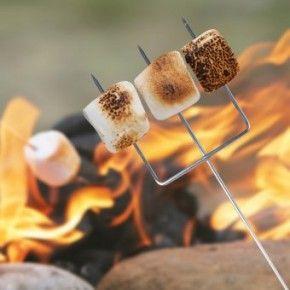 Les 3 techniques pour faire griller à merveille ses marshmallows sur www.esprit-barbecue-et-vous.fr !