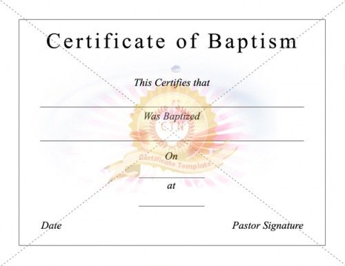 8 best baptism certificate template images on pinterest certificate of baptism certificate template pronofoot35fo Choice Image