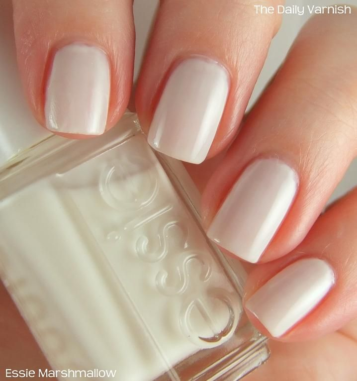 Best 25+ Essie Marshmallow Ideas Only On Pinterest