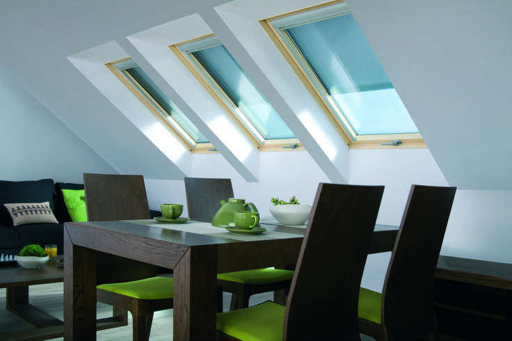Il sottotetto diventa zona #living con FAKRO #windows #light #home #attic #interiordesign www.fakro.it