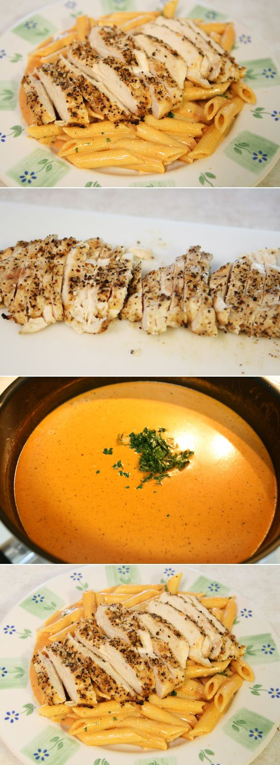 ... , Tomatoes Chicken, Pasta Recipe, Tomatoes Pasta, Tomato Cream Sauces