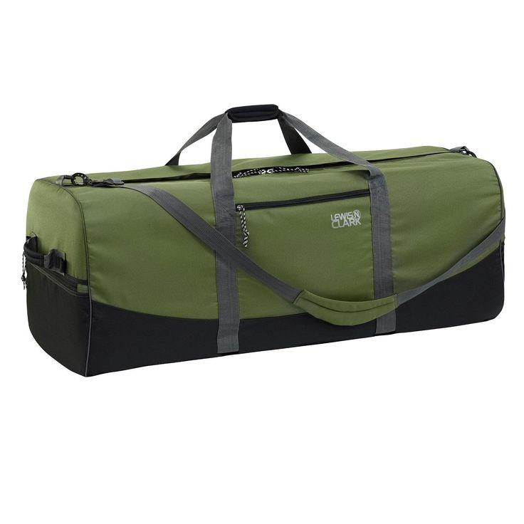Lewis N Clark Duffel Bag 18in x 40in Green