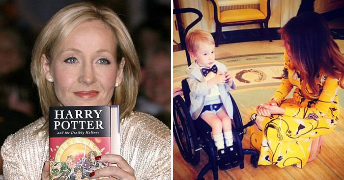 JK Rowling the author of Harry Potter has a weird obsession with the Trump family and everything around them. She recently accused President Trump of humiliating a disabled kid in a wheelchair at the White