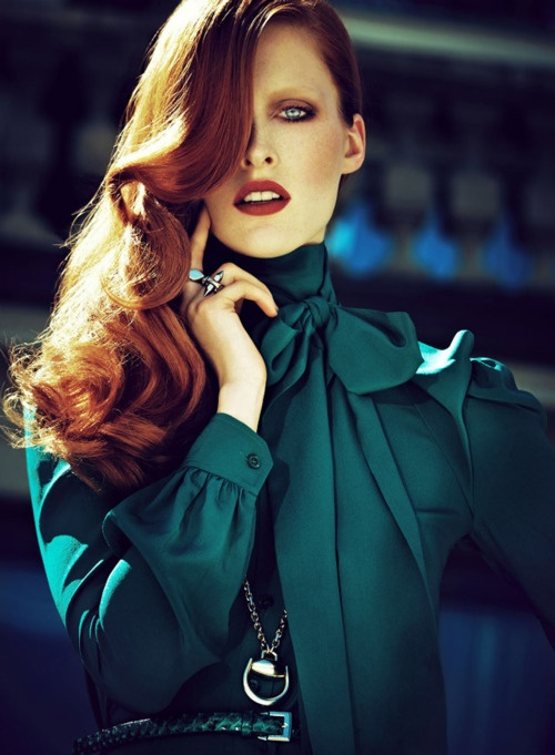 Ilva Heitmann, Gucci, campaign, Model, Fashion, advertising