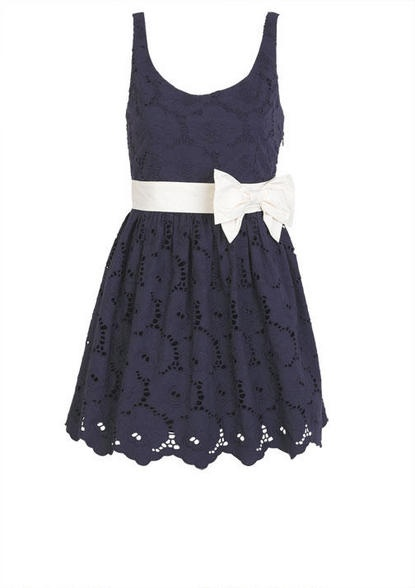 Bow Belted Dress