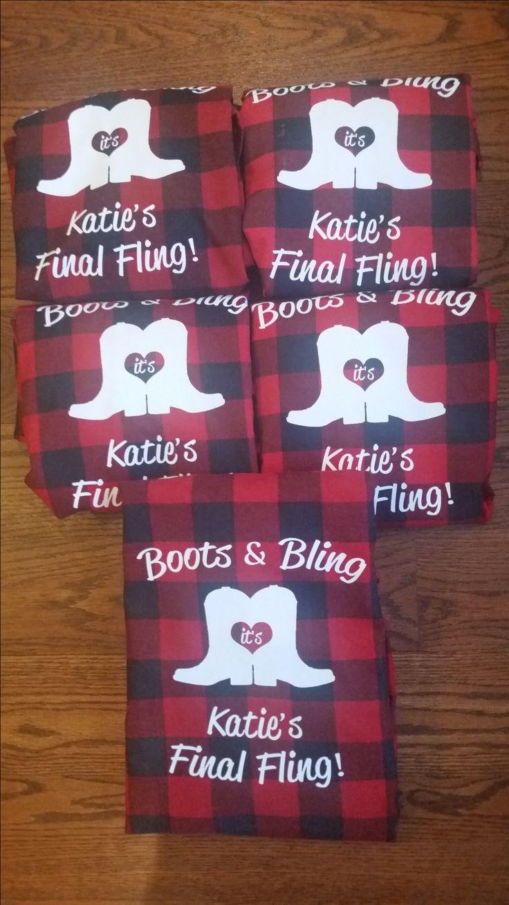 #bridal flannels #wedding party flannels #bridesmaid flannel #rustic wedding #bachelorette shirts