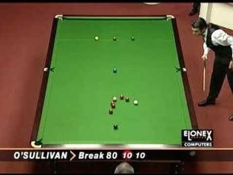 Snooker 147 Fastest In History - Ronnie O'Sullivan