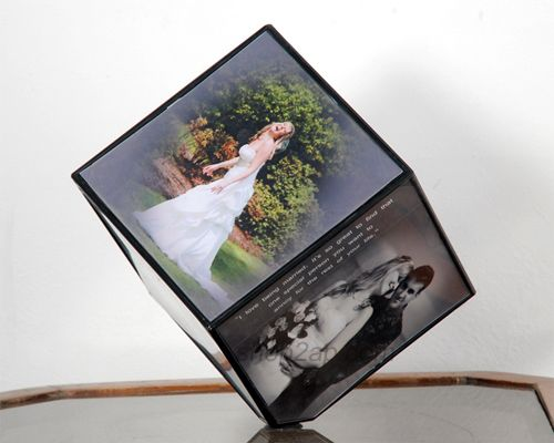 Photos are the memories of valuable and unforgettable moments. Shop2guntur.com provides Rotating Cube is the Best personalised gift you can provide to your Loved one as surprise in rememberance of many joyful moments.