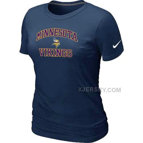 http://www.xjersey.com/minnesota-vikings-womens-heart-soul-dblue-tshirt.html MINNESOTA VIKINGS WOMEN'S HEART & SOUL D.BLUE T-SHIRT Only $26.00 , Free Shipping!