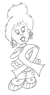 awareness ribbon coloring pages - photo#25