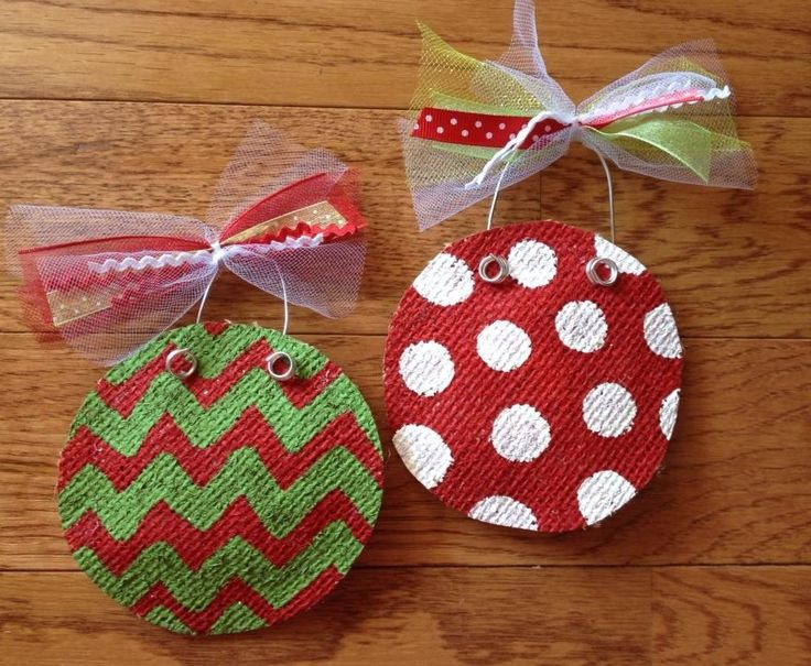 25 unique burlap ornaments ideas on pinterest burlap for Burlap ribbon craft ideas