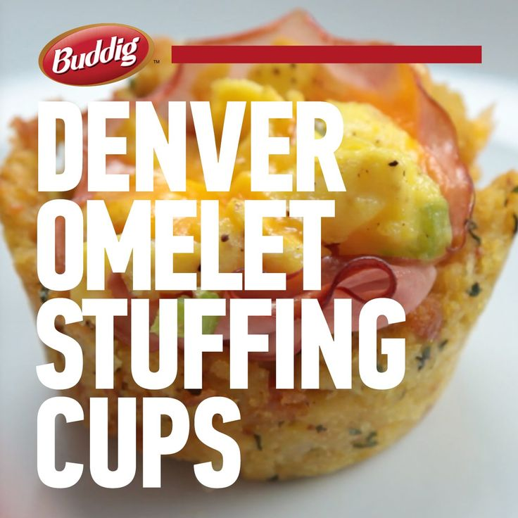 Check out this easy and delicious recipe for Denver Omelet Stuffing Cups using Buddig Premium Deli Smoked Ham.