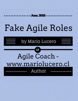 Read Fake #Agile #Roles https://leanpub.com/fakeagileroles?utm_content=bufferdaeb3&utm_medium=social&utm_source=pinterest.com&utm_campaign=buffer via Leanpub