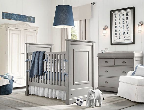 Baby Boy Nursery - Nursery Ideas for Boys   HomeIzy.com. Our bedding!!!