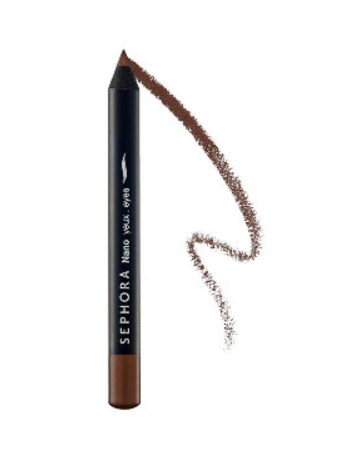The liner glides on smooth and silky, creating a lovely line of color. The highly pigmented eye pencil contain shea butter and rosemary extracts for a soft, blendable formula that's perfect for making an impact or a quick touch-up. eBay auction 361419882447 http://www.ebay.com/itm/NEW-Sephora-GLITTER-BROWN-Nano-Eyeliner-Eye-Liner-Pigmented-Eye-Pencil-Blendable-/361419882447?hash=item54264dbfcf:g:TbIAAOSw9mFWITla#ht_798wt_1153