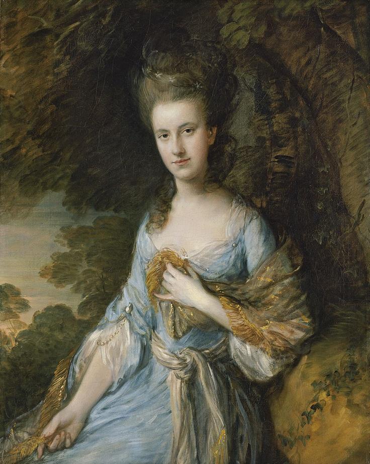Thomas Gainsborough, Portrait of Sarah Buxton