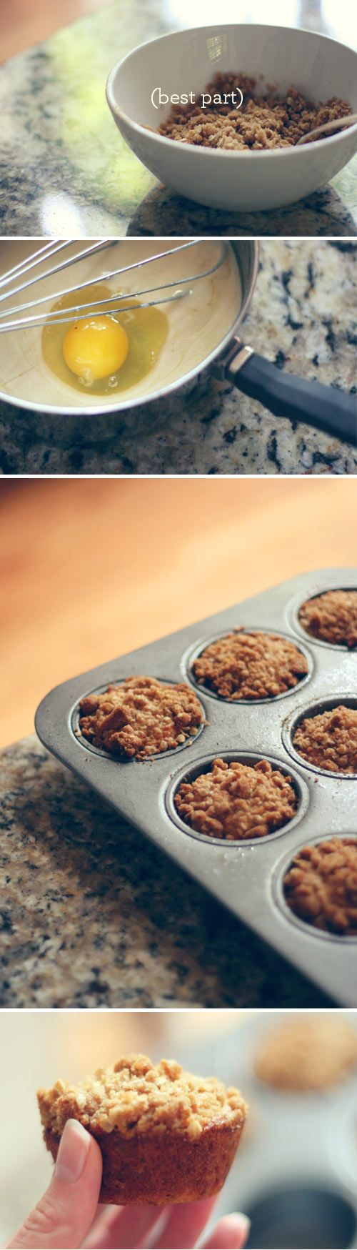 Oatmeal muffins recipe from Wit & Whistle. #oatmeal #muffin #witandwhistle