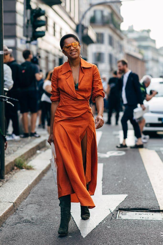 a85c551f8b1 Milan Fashion Week Street Style Spring 2019