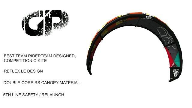 Team rider Rich Sabo introduces the the GP v2 C-kite.