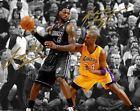 "For Sale - Kobe Bryant LeBron James LA Lakers Miami Heat Signed 8x10"" Photo Autograph Print - http://sprtz.us/HeatEBay"