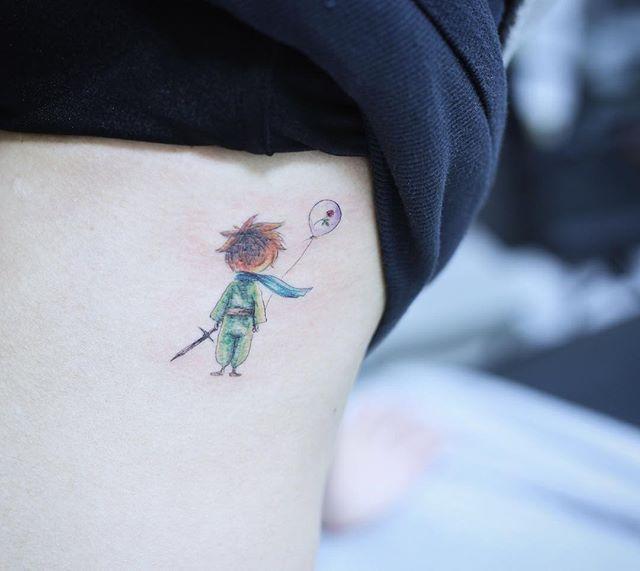 little prince  #tattoo#tattoos#tattooing#tattoowork#tattooart#colortattoo#flowertattoo#littleprincetattoo #littleprince #art#artist#tattooartist#tattoomagazine #germany#germanytattoo#frankfurt #타투#컬러타투#어린왕자타투#장미타투#타투이스트꽃 #tattooistflower